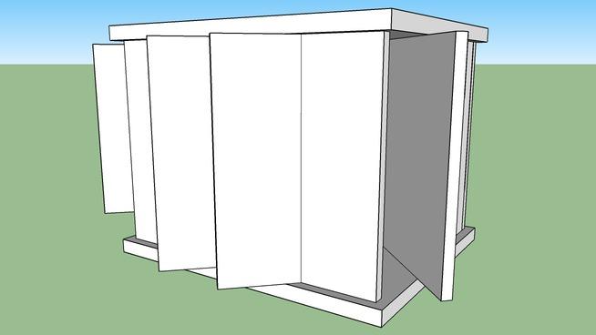 Transformer Concrete Shelter