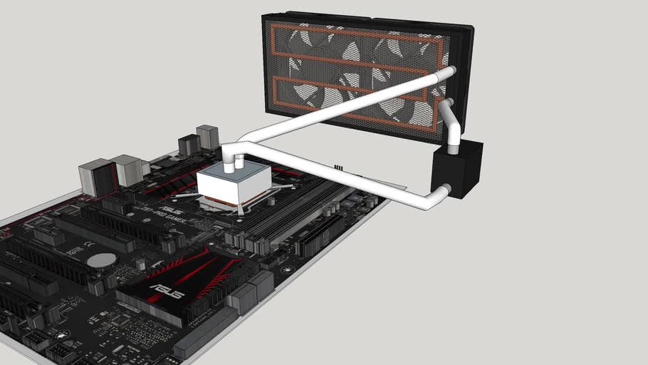 HomeMade CPU Liquid cooler
