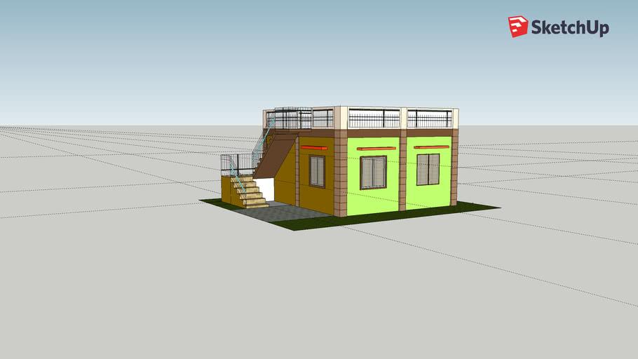 Roof Deck House Design 3d Warehouse