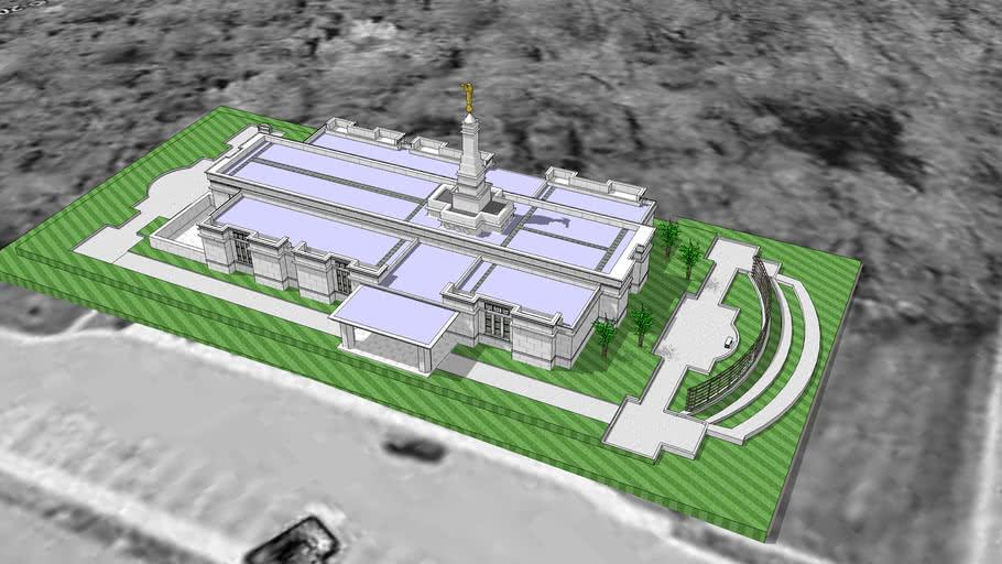 LDS. Temple Louisville Kentucky. Templo Mormon. 76th operating temple.