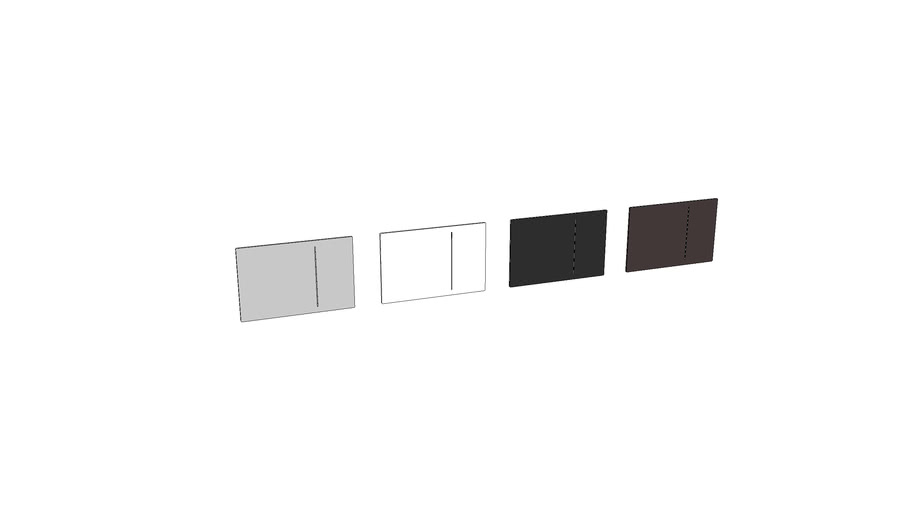 115.620 - Geberit Sigma70 flush plate for dual flush, for Sigma concealed cistern 12 cm