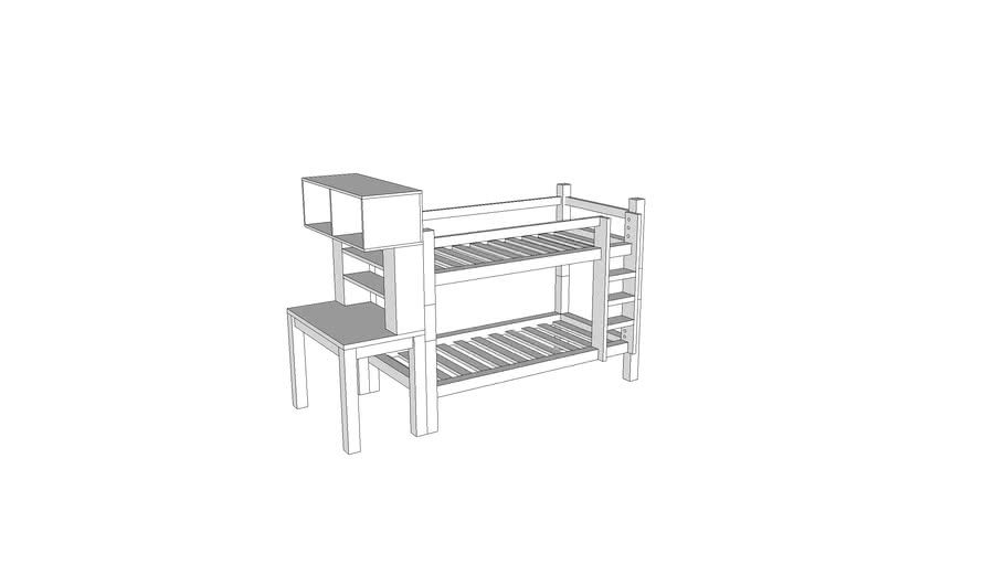 bunk bed FD ortho