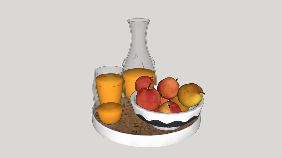 Fruit and Juice Pitcher