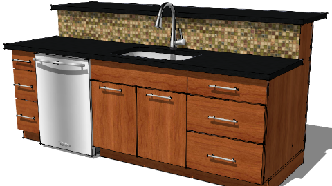 Design Concepts By Kraftmaid Cabinetry 3d Warehouse