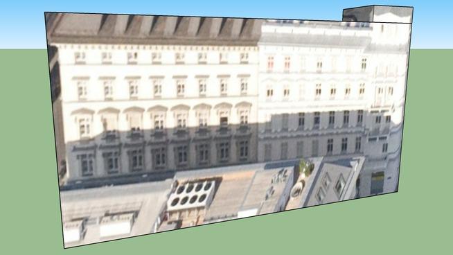 Gebäude in Wien, Österreich