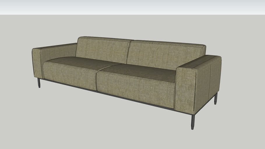 Mid Town Sofa 3 Seat