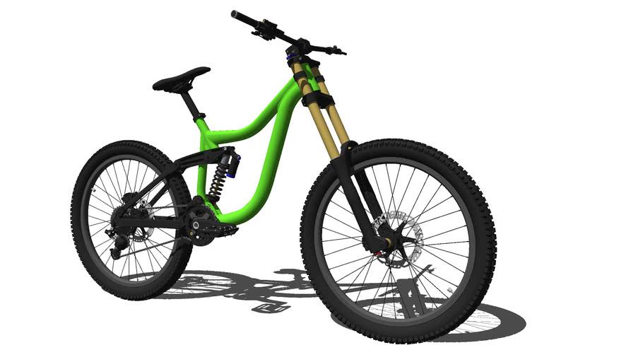 Downhill bike Kona Park Operator