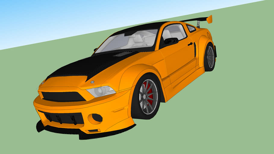 2010 Ford Mustang Shelby SuperSnake [color]
