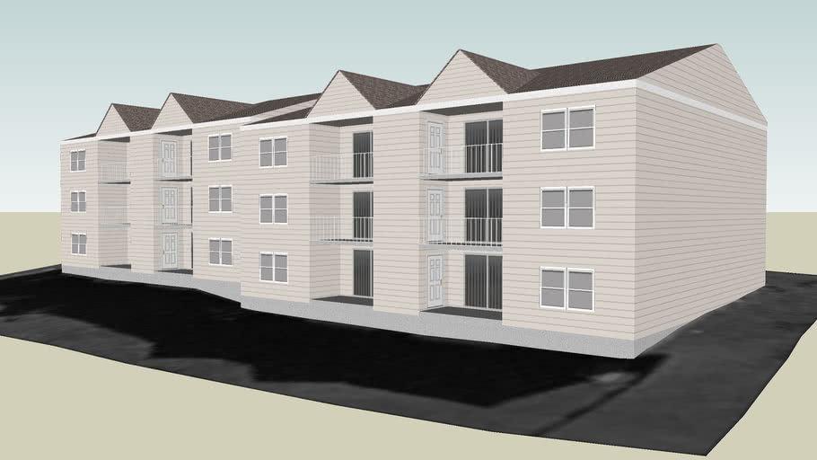 Sycamore Commons Apartments in Miamisburg Ohio: Building #1