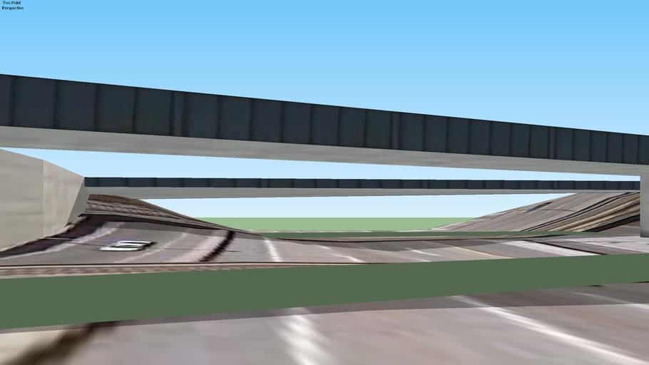 Metra O'Hare Bridge over I-294