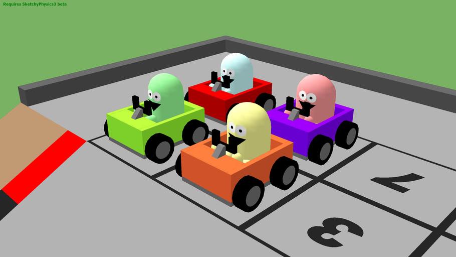 SketchyPhysics Soap Box Racing
