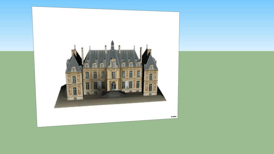 tableau d' un chateau
