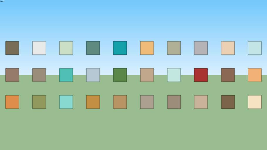 SW Paint Palette 32