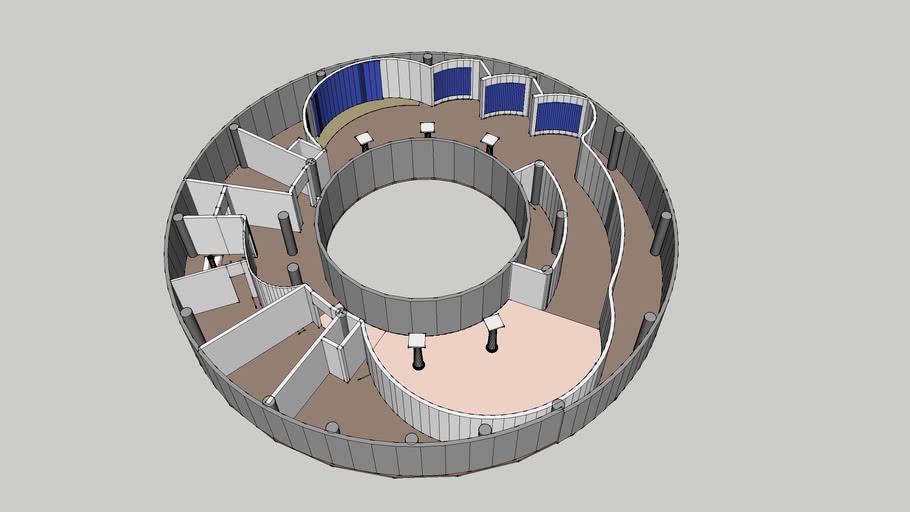 3楼圆形展厅