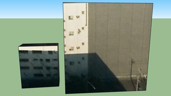 此建築物位於 日本東京市中央區