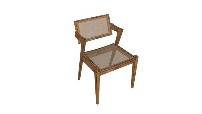 Cadeira Ágata Palha