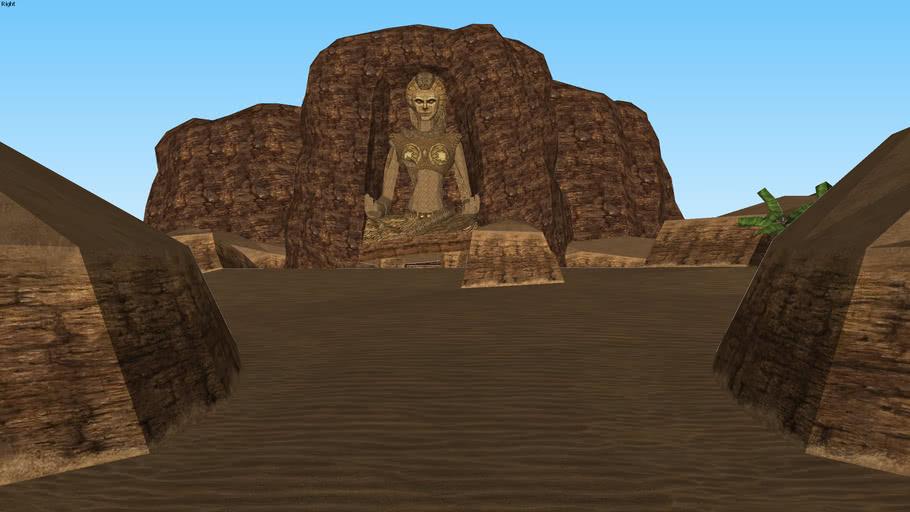 Desert Colossus (Ocarina of Time 3D)