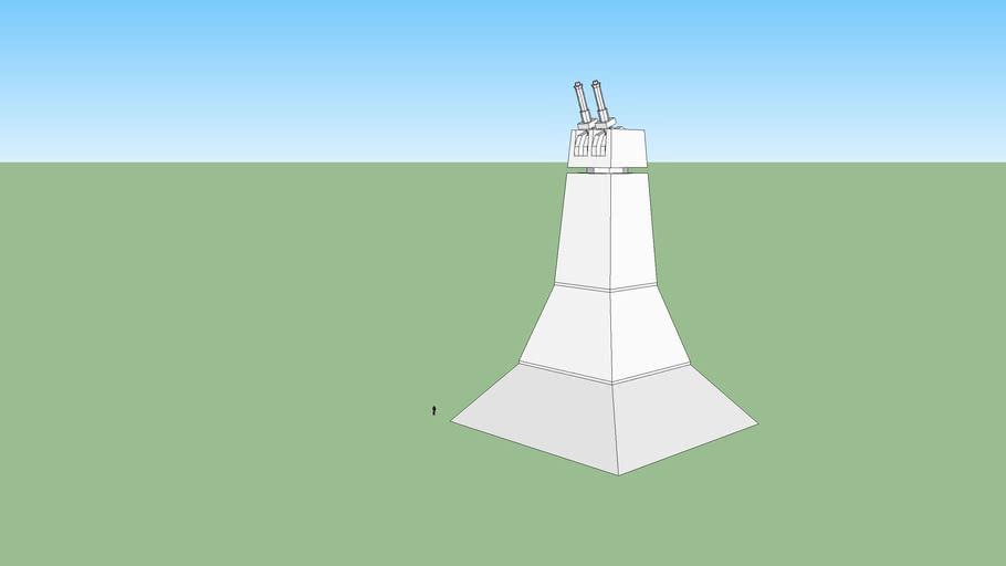death star laser tower