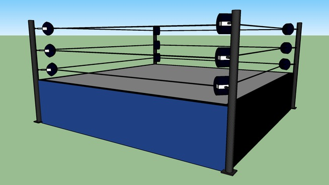 WWF WWE classic ring