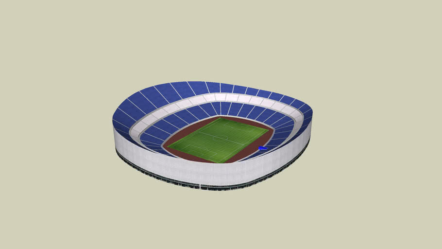New Santiago Bernabeu without roof