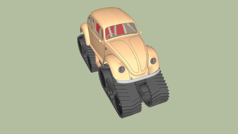 Volkswagen beetle (tracked)