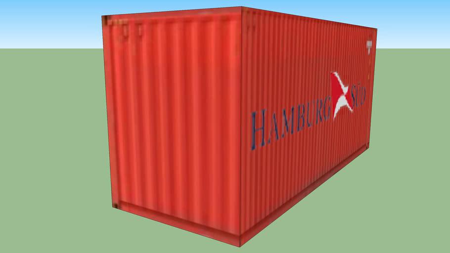 Hamburg Sud 20ft Container