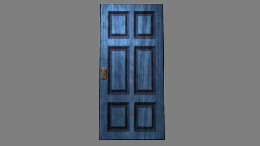 Resident Evil 1 Blue Door