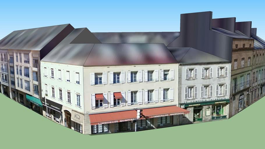 Batiments commerces & habitations - Quimper