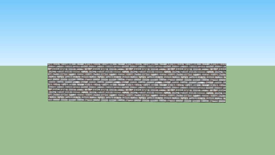 muretto recinzione in pietra