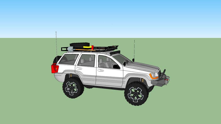 Lifted Jeep Grand Cherokee WJ