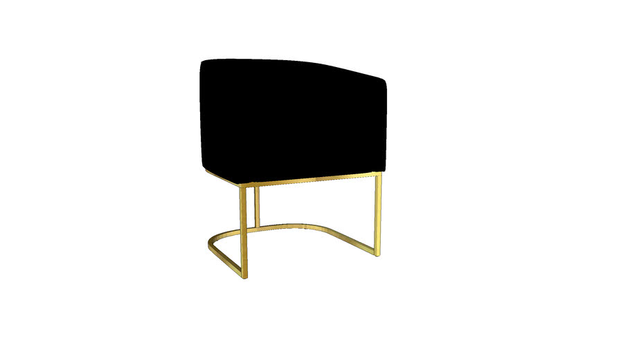 FormDecor - Uno Dining Chair - Black