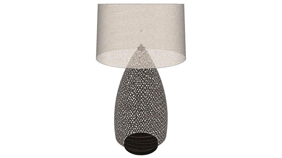 Tukcer Robbins Rattan lamp
