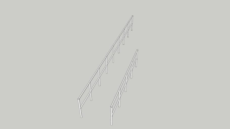 sea railings for deck outside