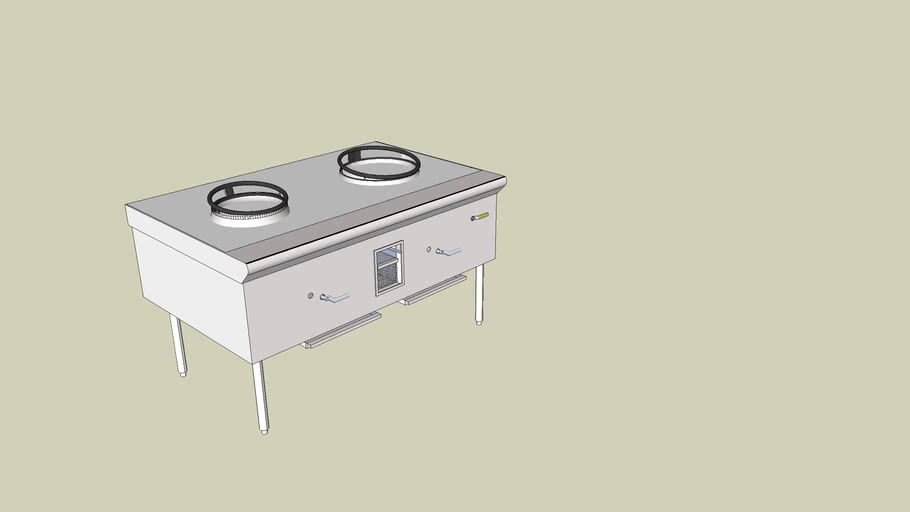 Atlanta Culinary Equipment Inc-GRE2 Wok-13 16 nettoyé