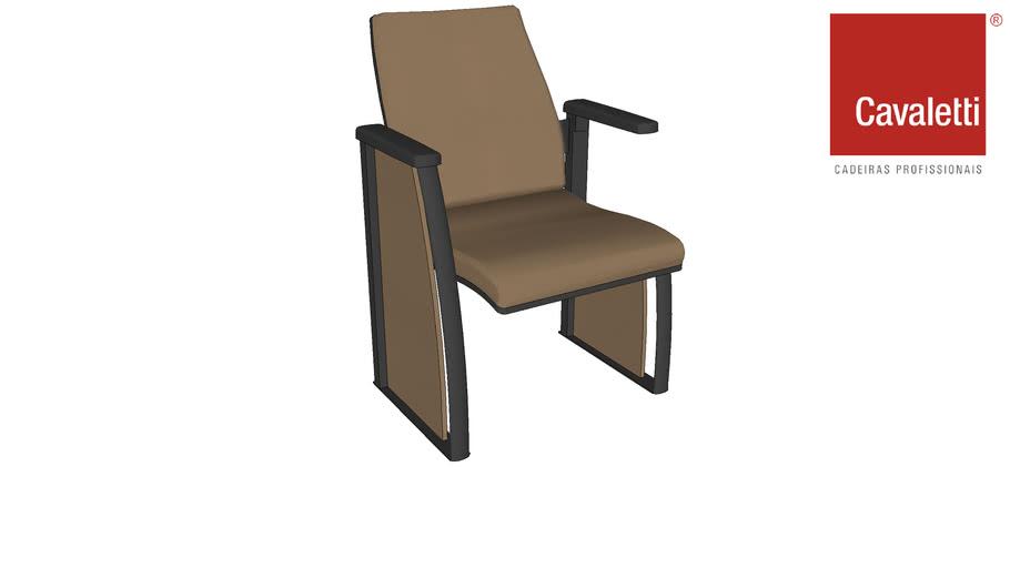 Cadeira Cavaletti Coletiva Auditório 12020