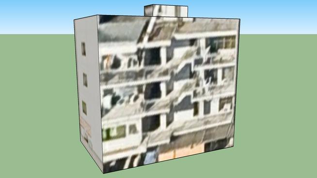 Building in 東観音町, Nishi Ward, Hiroshima City, Hiroshima Prefecture, Japa