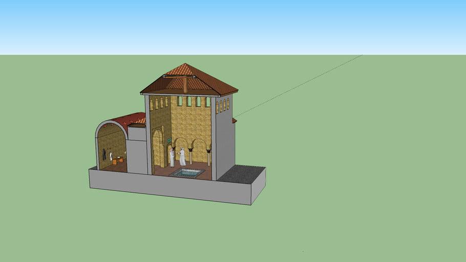 """Arab Baths  """"El Bañuelo""""  Granada part 1"""