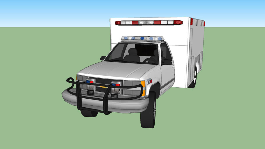 ambulance type l chevrolet silverado model 1993