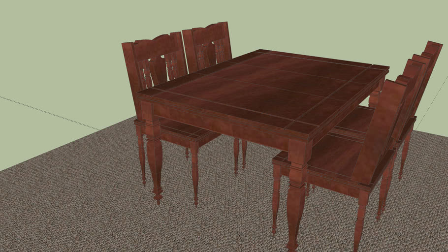 Tall Breakfast Table and Chairs