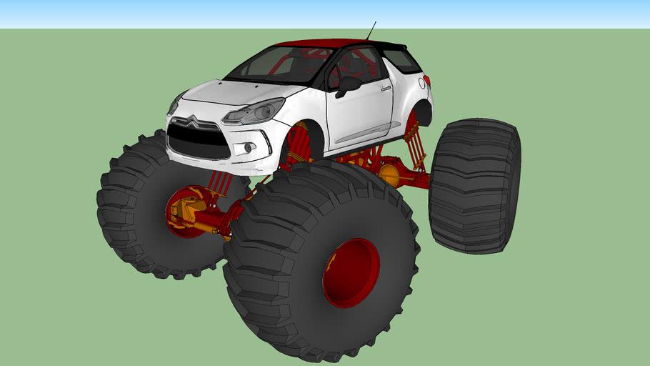Citroen DS3 Monstertruck