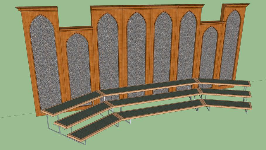 Acoustic Divider Wall