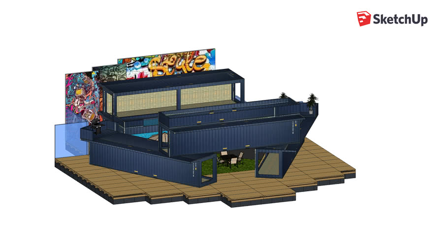 Floating Container Rec Area