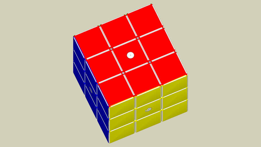 rubix cube sample with rounded edges & corners