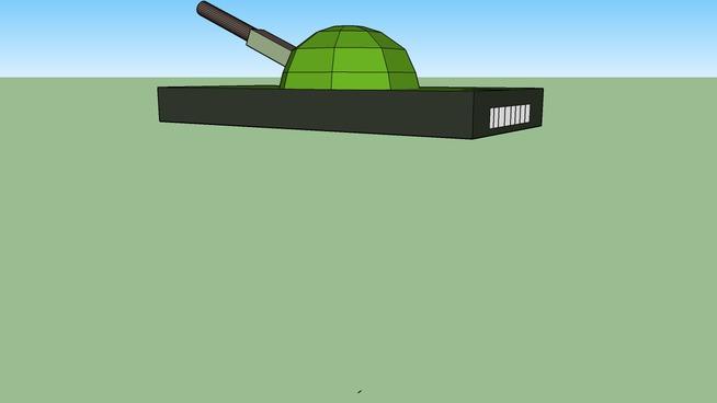 blown up tank