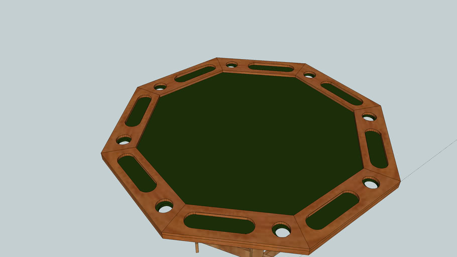 54 inch Poker Table