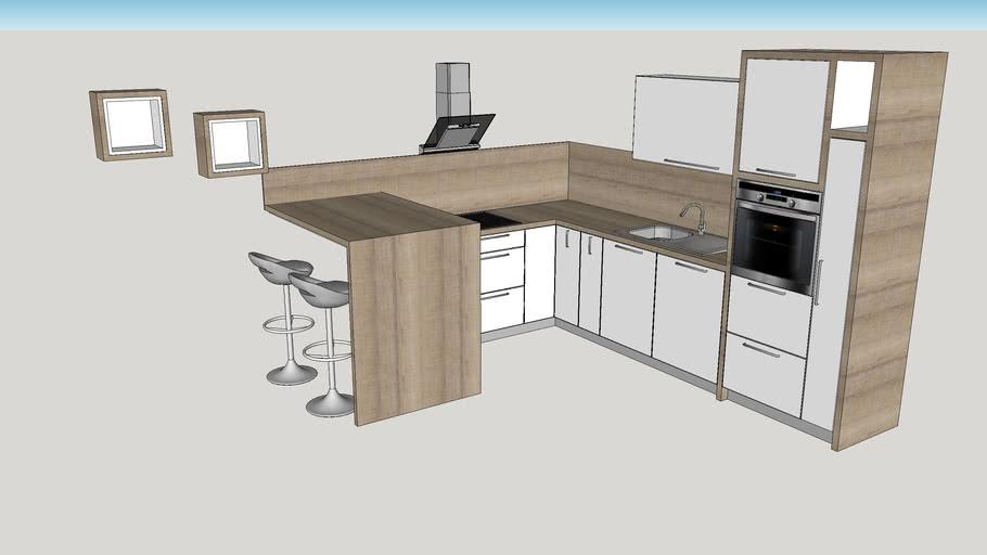 Cucina 3.00 x 3.20 - kitchen