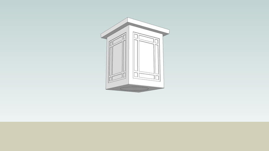Midland Crafts Ceiling Fixture - CM1566 Visa Lighting