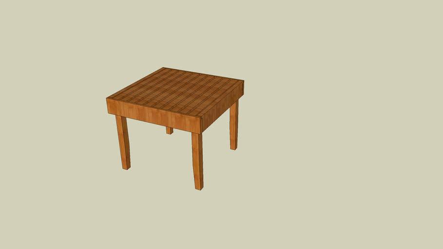IPE Deck Table