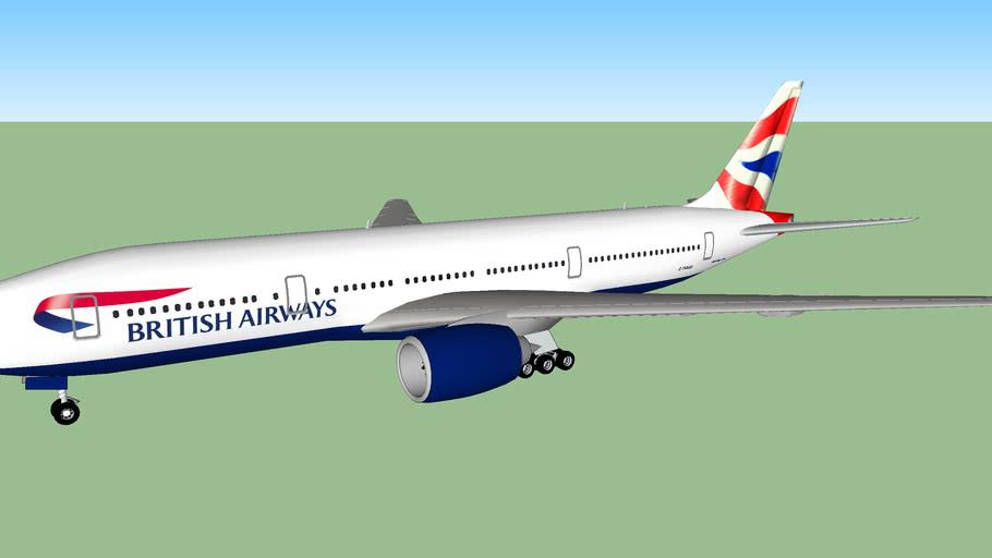 British Airways (2008) - Boeing 777-236/ER