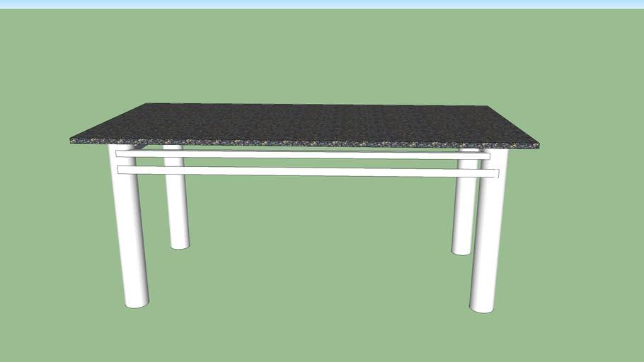 mesa de granito feito por everaldo da reta